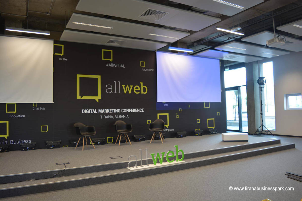 All-Web – The first Digital Marketing Event in Albania was organized today @Tirana Business Park