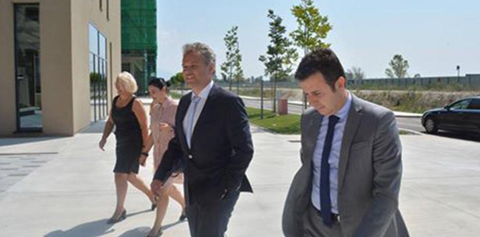 Austrian Ambassador of Albania visit @ AIDA's Office in TBP