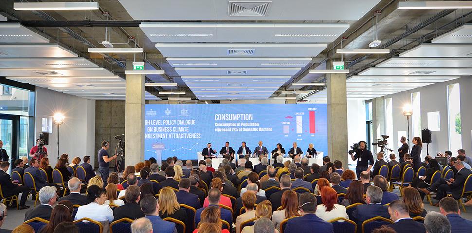 Dialogë i nivelit të lartë Politikë mbi Klimën e Biznesit