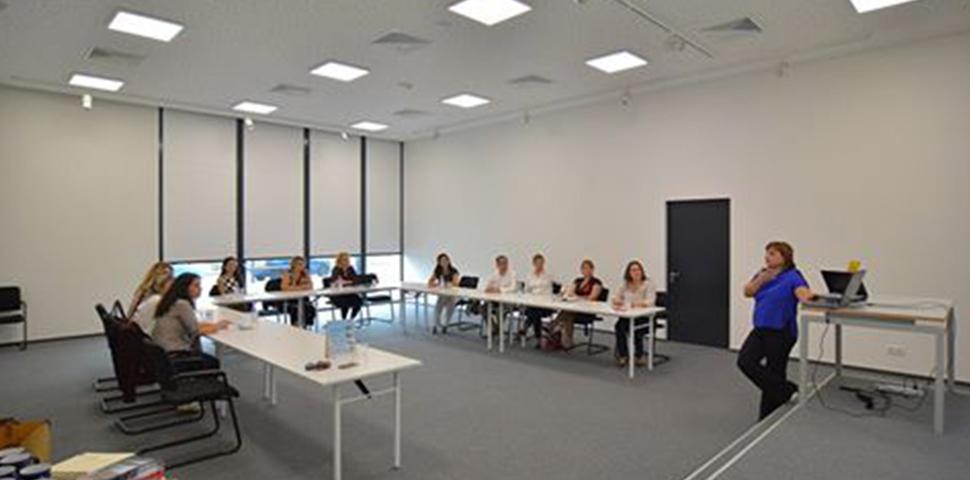 NetTrade held his staff meeting at Tirana Hall, in Tirana Business Park