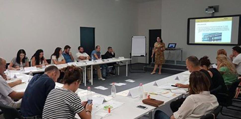 Universe Reklama held its Staff Development Program (SDP) on communication @Tirana Hall in Tirana Business Park.
